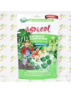Agrecol Удобрение для комнатных цветущих растений в капсулах, 18шт