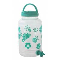 Бутыль пластиковая с краном, лимонадница, 4,3 л.