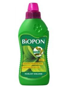 BIOPON Удобрение для лиственных растений с проявами хлороза, 500мл