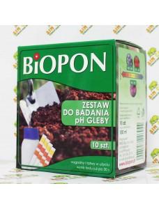 Biopon Набор для измерения pH почвы, 10шт