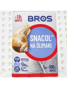 BROS Препарат против улиток (слизней) Snacol, 1кг (+100г)