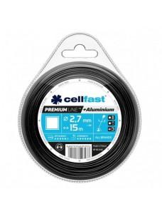 Cellfast Premium Леска для мотокосы с алюминием 2.7мм квадрат 15м