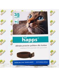 Happs Ошейник против блох и клещей для кошек, 35см