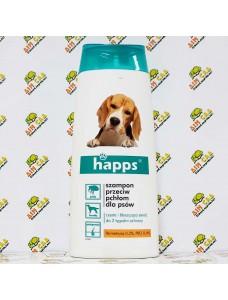 Happs Шампунь от блох для собак, 150ml
