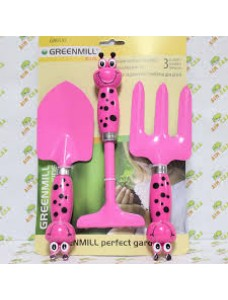 Greenmill Садовый набор розовый Kids