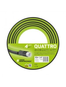 "Cellfast Шланг садовый Quattro 1"" (25мм) 10м"