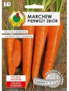 Pnos Семена моркови Pierwszy Zbior на ленте,6 метров