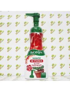 Biopon Удобрение пенное для цветущых растений, 250мл