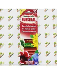 Substral Удобрение в палочках для цветущих растений, 30шт