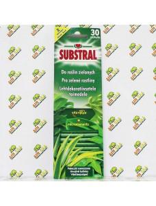 Substral Удобрение в палочках для лиственных растений, 30шт