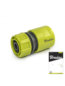 Bradas Коннектор для поливочного шланга 1/2 Lime Line