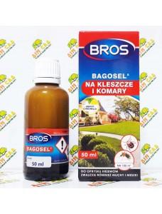 BROS Препарат против комаров, клещей, мух Bagosel, 50мл