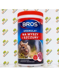 Bros Гранулы от мышей и крыс, 250г