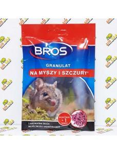 Bros Гранулы от мышей и крыс, 90г