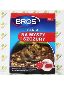 Bros Паста от мышей и крыс, 150г