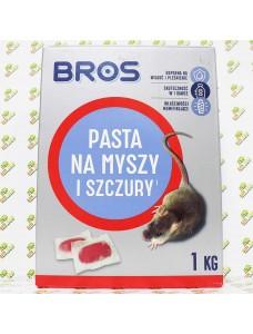 Bros Паста от мышей и крыс, 1кг