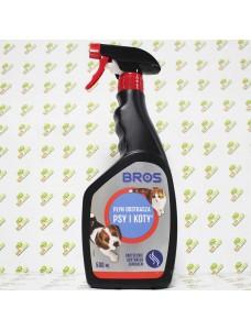 BROS Средство для отпугивания собак и кошек, 500мл