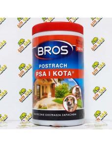 Bros Отпугиватель для собак и кошек в гранулах, 300гр